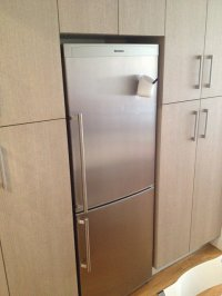 lodówka w kuchni